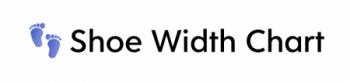 Shoe width Chart logo